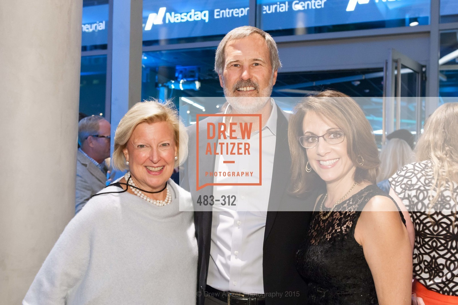 Joan Connelly, Keith Larson, Marianne Baldrica, Nasdaq 25th Anniversary, Foundry III. 505 Howard Street, September 24th, 2015,Drew Altizer, Drew Altizer Photography, full-service event agency, private events, San Francisco photographer, photographer California