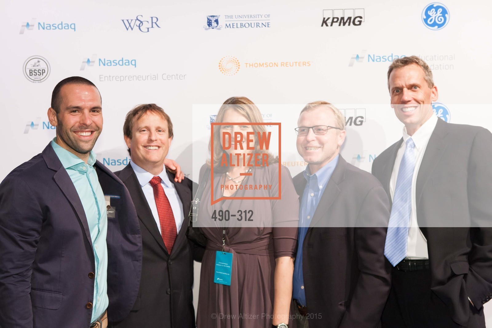 Brian Cayne, Jonathan Cayne, Jana Kane, Rick Hermanson, Nasdaq 25th Anniversary, Foundry III. 505 Howard Street, September 24th, 2015,Drew Altizer, Drew Altizer Photography, full-service event agency, private events, San Francisco photographer, photographer California