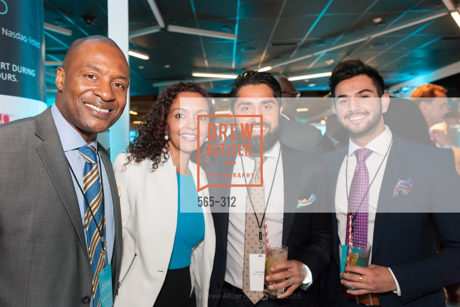 Neble Boston, Rachita Sinha, Roh Habibi, Obeid Habibi, Nasdaq 25th Anniversary, Foundry III. 505 Howard Street, September 24th, 2015,Drew Altizer, Drew Altizer Photography, full-service agency, private events, San Francisco photographer, photographer california