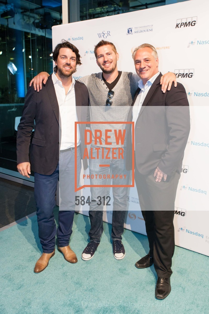 Ludovic Ulrich, Quint Nelson, Julien Uhlig, Nasdaq 25th Anniversary, Foundry III. 505 Howard Street, September 24th, 2015,Drew Altizer, Drew Altizer Photography, full-service event agency, private events, San Francisco photographer, photographer California