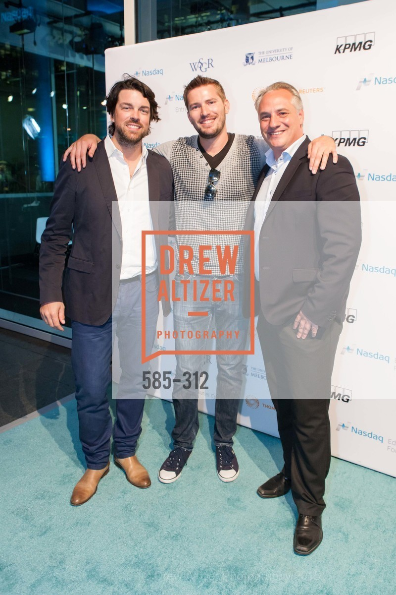 Ludovic Ulrich, Quint Nelson, Julien Uhlig, Nasdaq 25th Anniversary, Foundry III. 505 Howard Street, September 24th, 2015,Drew Altizer, Drew Altizer Photography, full-service agency, private events, San Francisco photographer, photographer california