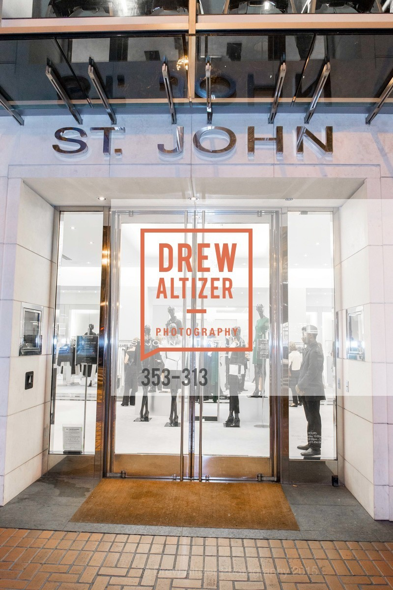 Atmosphere, St. John in Converstation, St John Boutique, September 24th, 2015,Drew Altizer, Drew Altizer Photography, full-service agency, private events, San Francisco photographer, photographer california