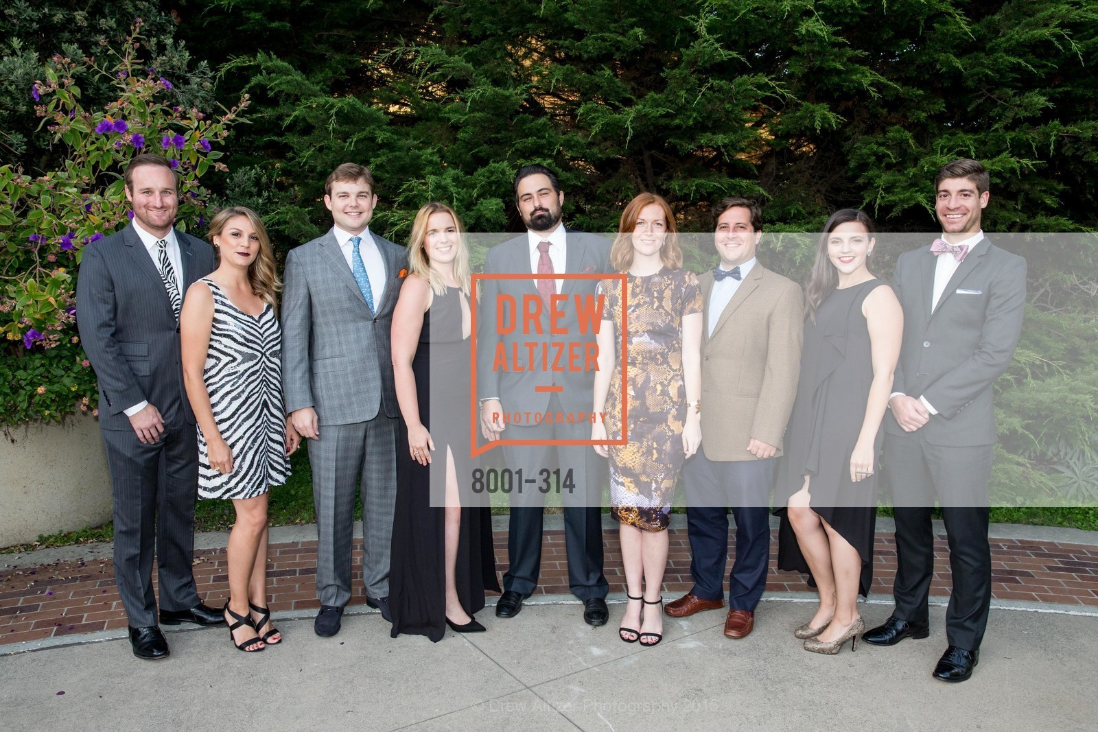 PJ Masterson, Erin Toth, Will Andereck, Michelle Sangiacomo, John Mutlow, Willa Moore, Clay Jameson, Aly Spradlin, Mike Ritter, San Francisco Zoo Fur Ball, San Francisco Zoo, September 25th, 2015