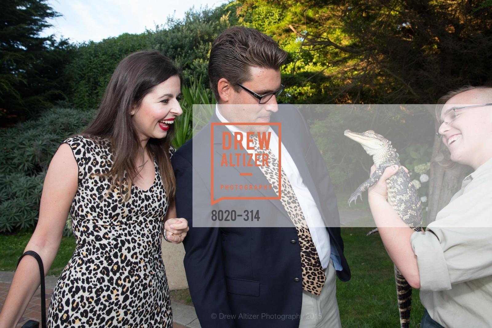 Dana Armanino, Grant Jordan, San Francisco Zoo Fur Ball, San Francisco Zoo, September 25th, 2015