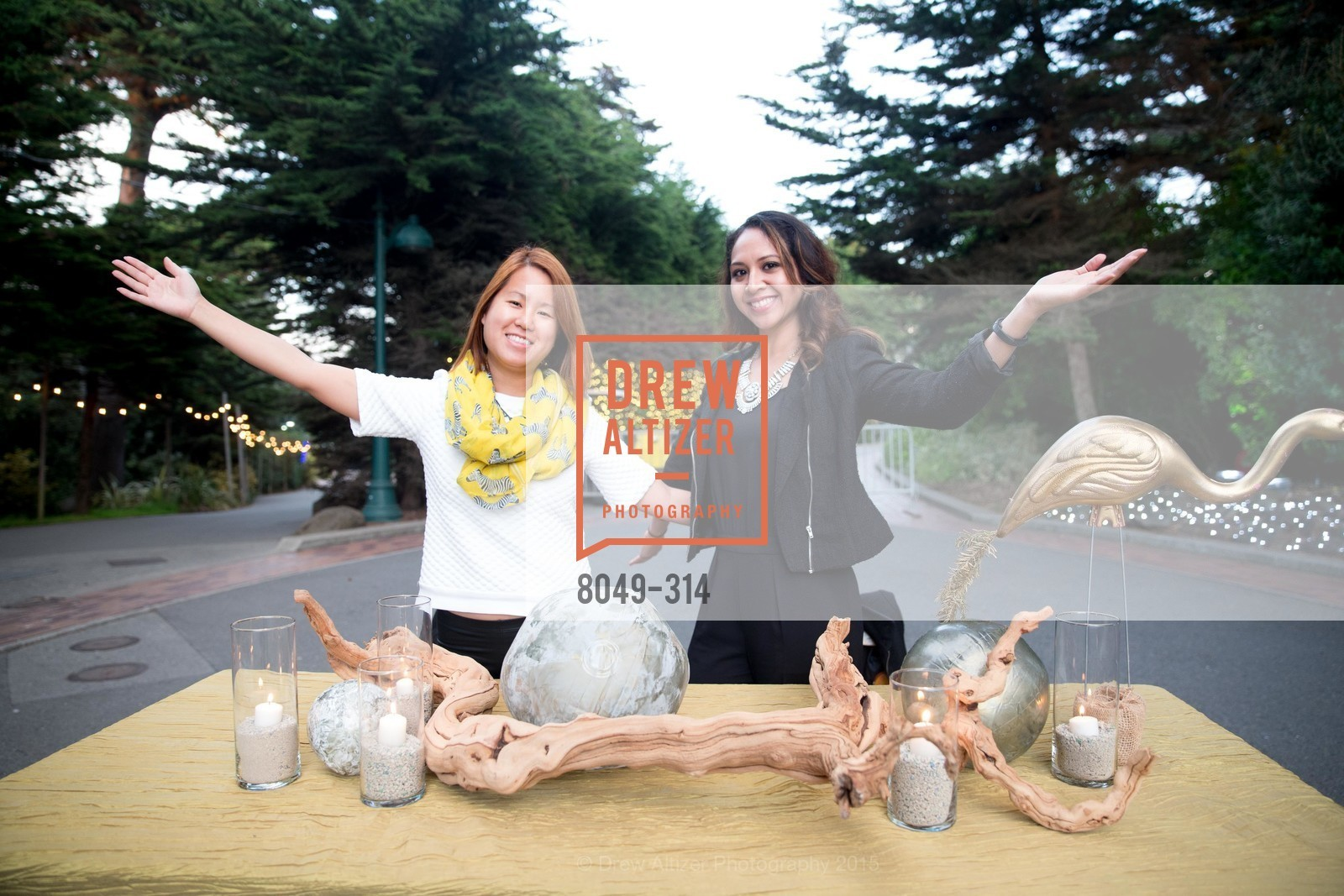 Lana Reyes, Christina Luz, San Francisco Zoo Fur Ball, San Francisco Zoo, September 25th, 2015,Drew Altizer, Drew Altizer Photography, full-service agency, private events, San Francisco photographer, photographer california