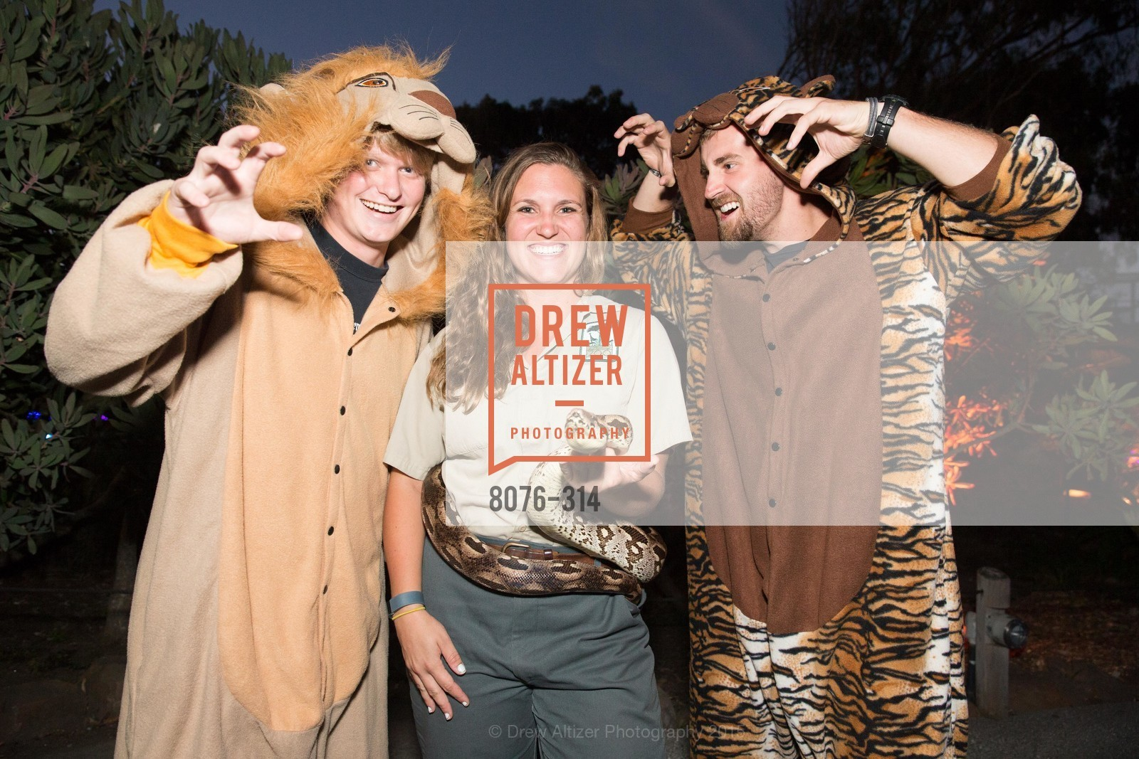 Carter Andereck, Kaela Schnitzler, Phil Martindale, San Francisco Zoo Fur Ball, San Francisco Zoo, September 25th, 2015,Drew Altizer, Drew Altizer Photography, full-service agency, private events, San Francisco photographer, photographer california