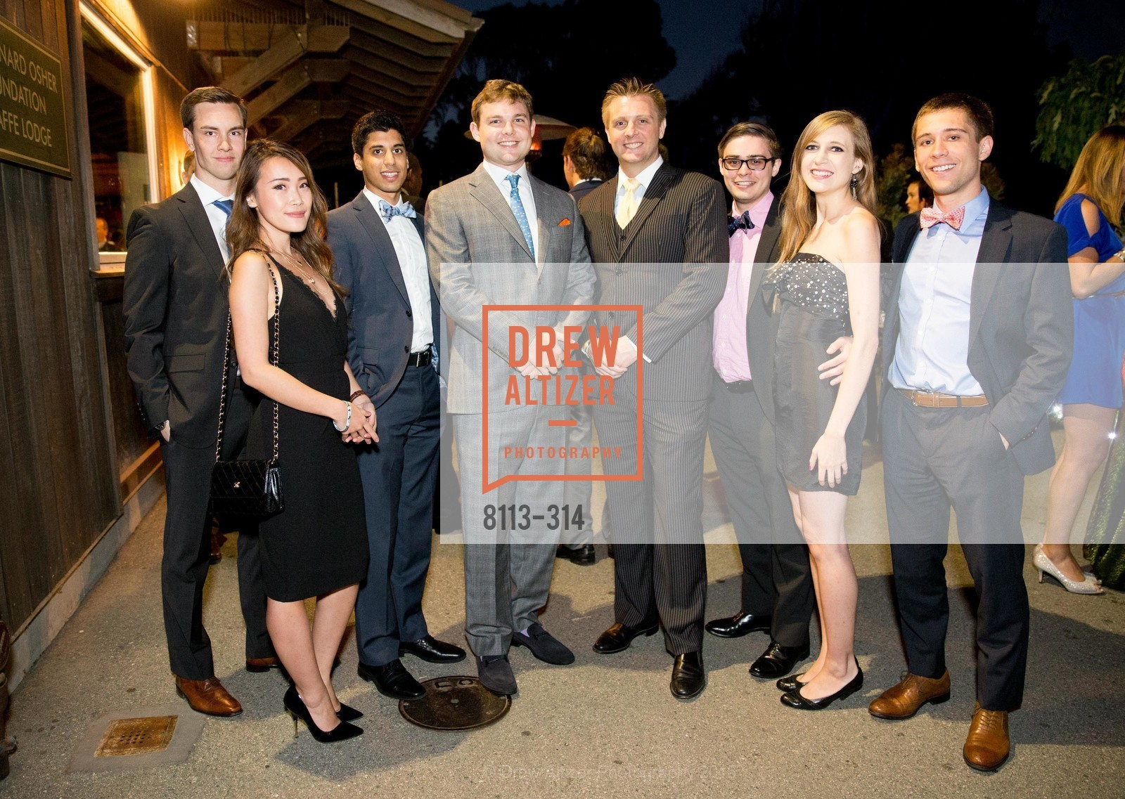 Dan Edwards, Will Andereck, Nate Hennings, Riley Kinser, Michelle Huppert, David Sutton, San Francisco Zoo Fur Ball, San Francisco Zoo, September 25th, 2015