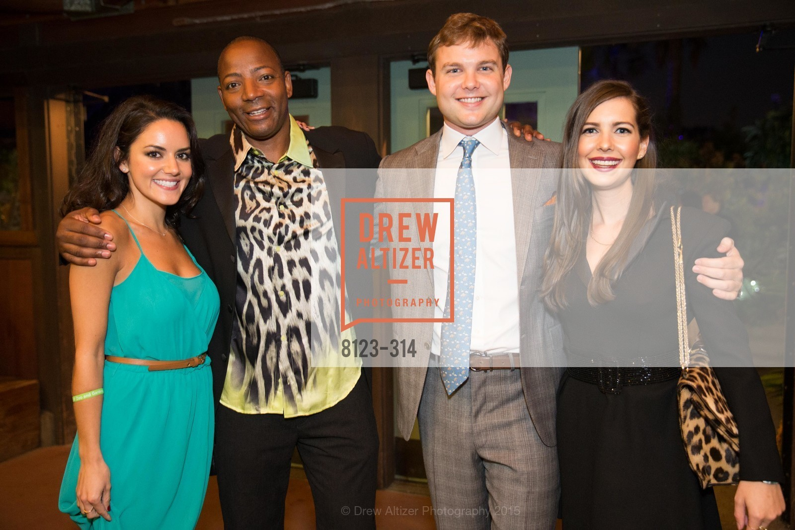 Kelsey Morris, Waukeen McCoy, Will Andereck, Katie Arsenio, San Francisco Zoo Fur Ball, San Francisco Zoo, September 25th, 2015,Drew Altizer, Drew Altizer Photography, full-service agency, private events, San Francisco photographer, photographer california