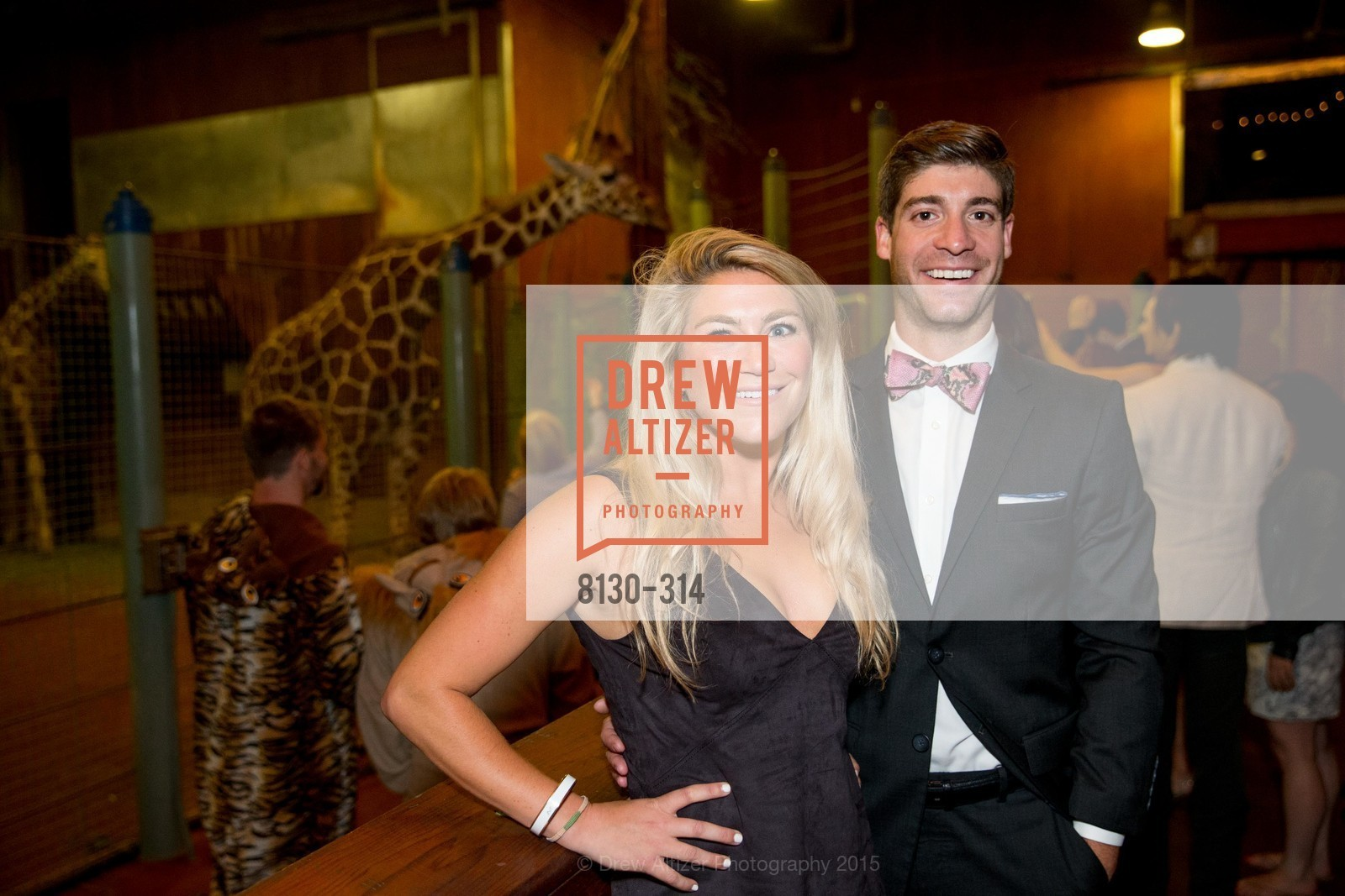 Jackie Rooney, Clay Jameson, San Francisco Zoo Fur Ball, San Francisco Zoo, September 25th, 2015,Drew Altizer, Drew Altizer Photography, full-service agency, private events, San Francisco photographer, photographer california
