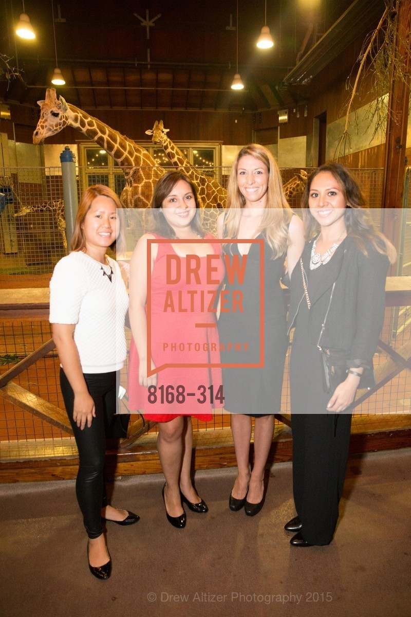Lana Reyes, Nancy Gomez, Danielle Hake, Christina Luz, San Francisco Zoo Fur Ball, San Francisco Zoo, September 25th, 2015,Drew Altizer, Drew Altizer Photography, full-service event agency, private events, San Francisco photographer, photographer California