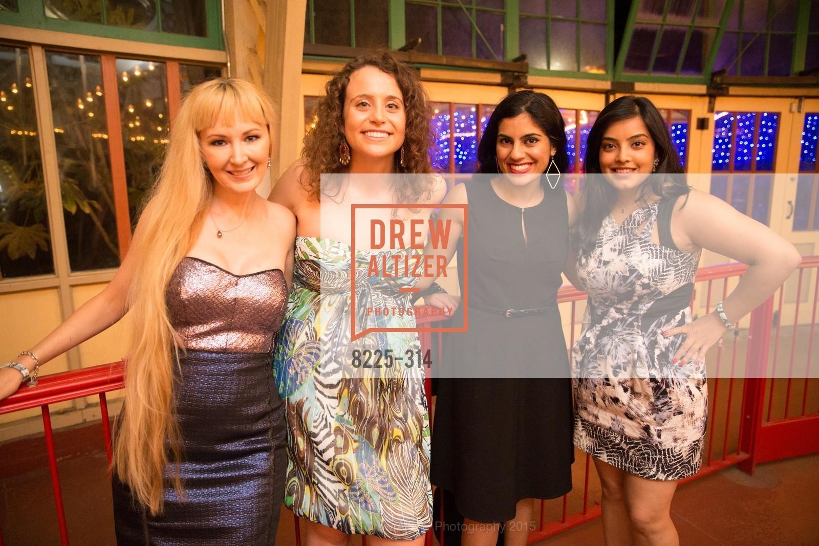 Shannyn Bessoni, Allison Tompkins, Paayal Gupta, Pujeeta Chowdhary, San Francisco Zoo Fur Ball, San Francisco Zoo, September 25th, 2015