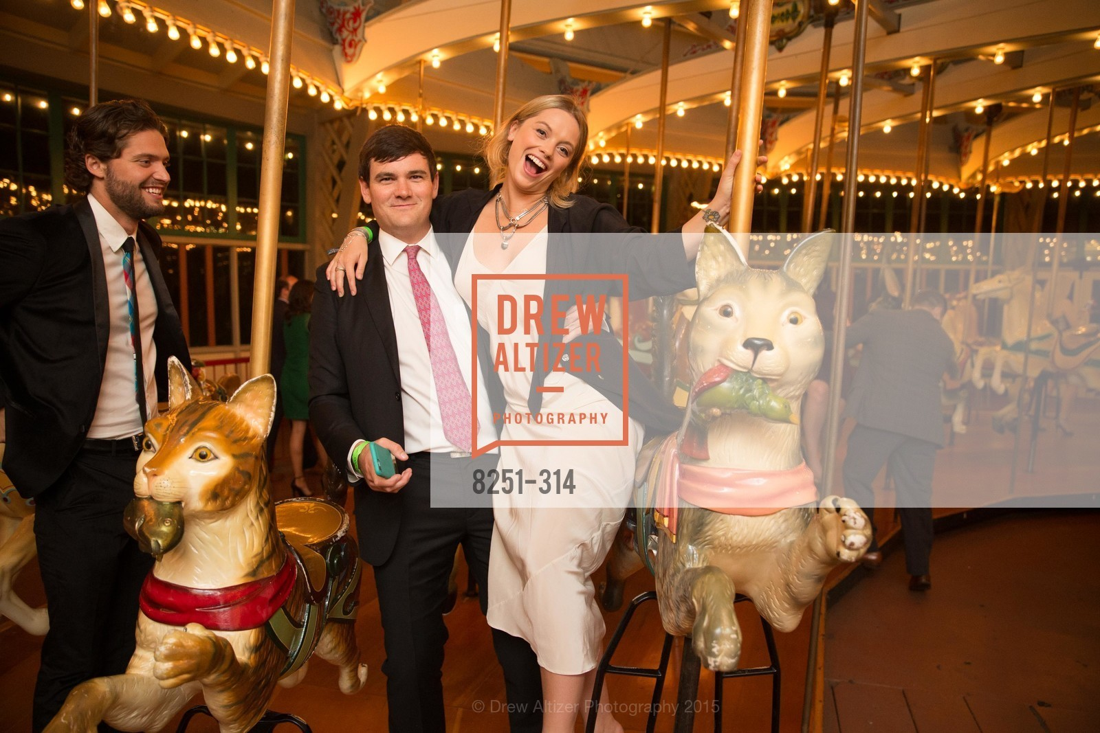 John O'Connor, Natalia Mitchell, San Francisco Zoo Fur Ball, San Francisco Zoo, September 25th, 2015