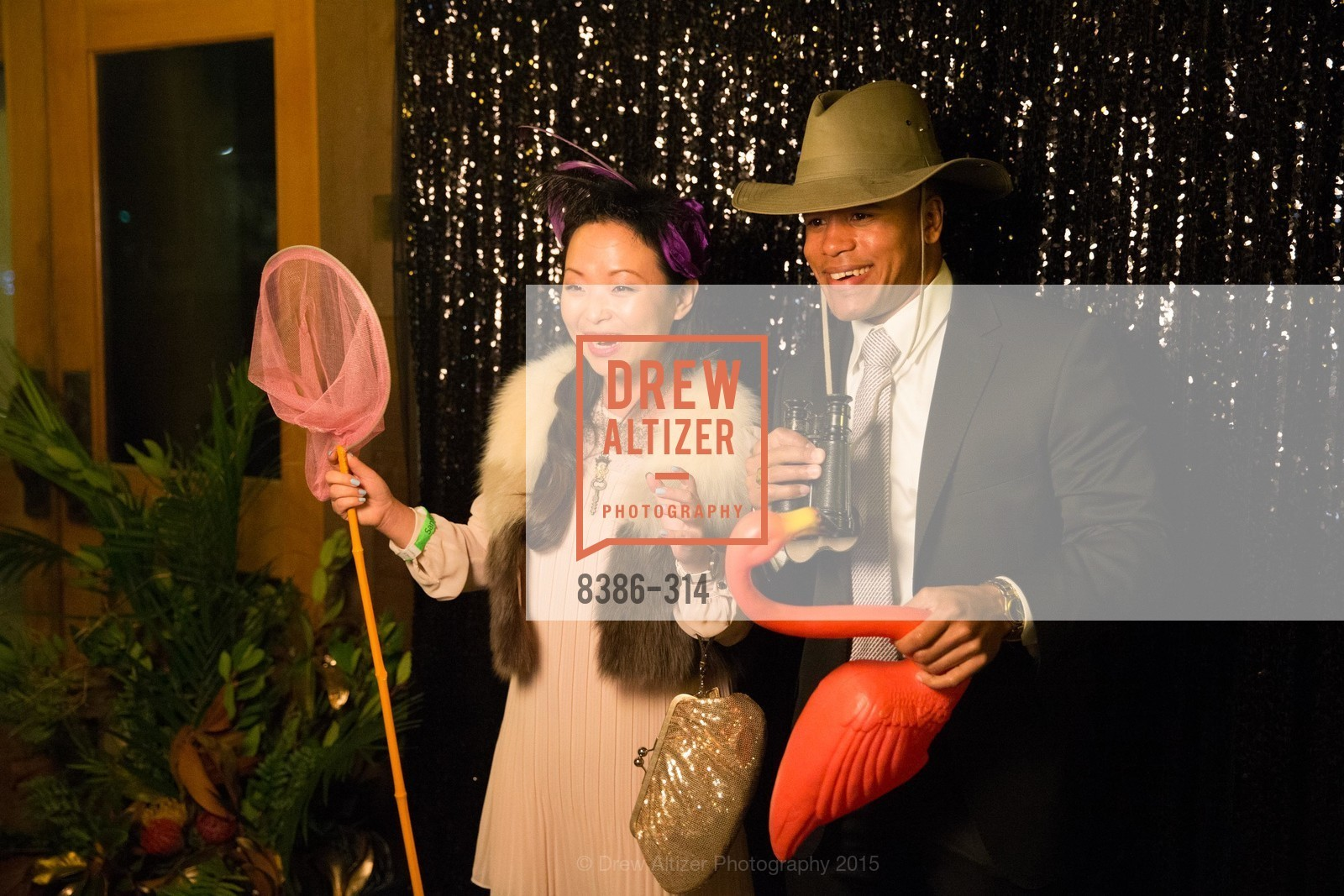 Sally Zheng, Darnell Kemp, San Francisco Zoo Fur Ball, San Francisco Zoo, September 25th, 2015,Drew Altizer, Drew Altizer Photography, full-service agency, private events, San Francisco photographer, photographer california