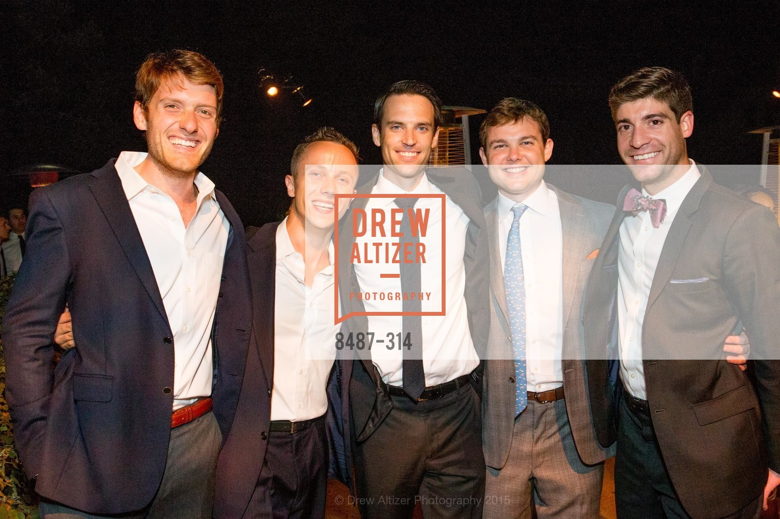 Gareth Hornberger, Scott Snow, Will Andereck, Clay Jameson, San Francisco Zoo Fur Ball, San Francisco Zoo, September 25th, 2015,Drew Altizer, Drew Altizer Photography, full-service agency, private events, San Francisco photographer, photographer california
