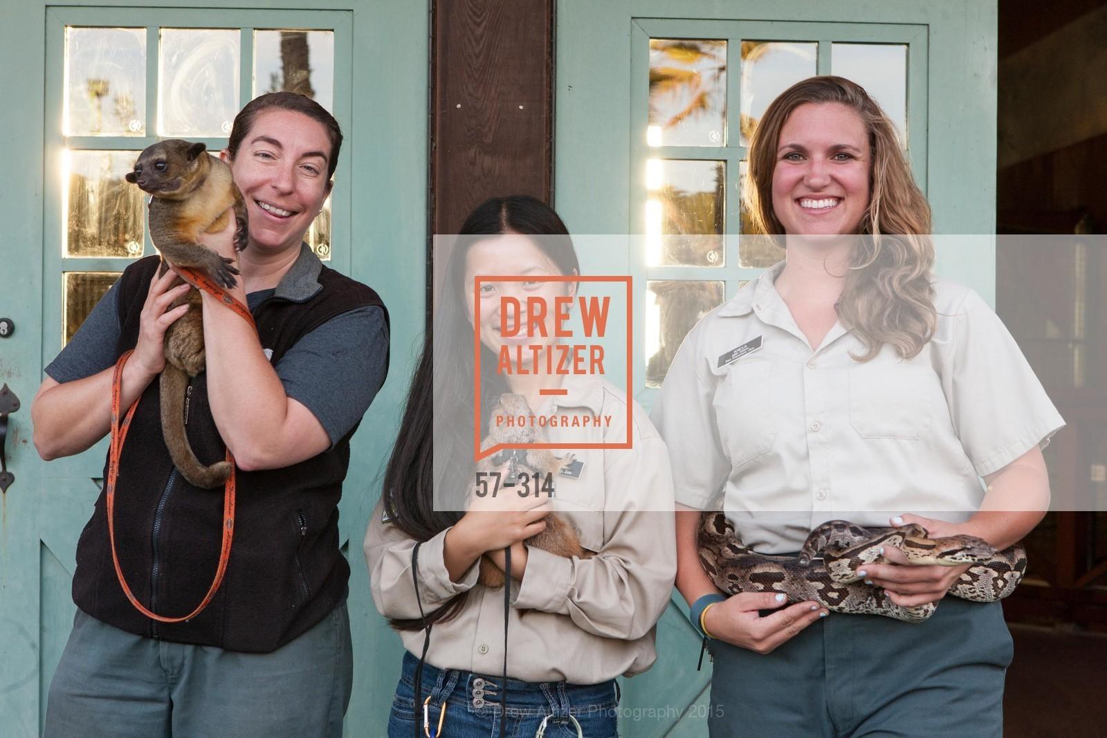 Amy Goodwin, Sydney Lau, Kaela Schnitzler, San Francisco Zoo Fur Ball, San Francisco Zoo, September 25th, 2015