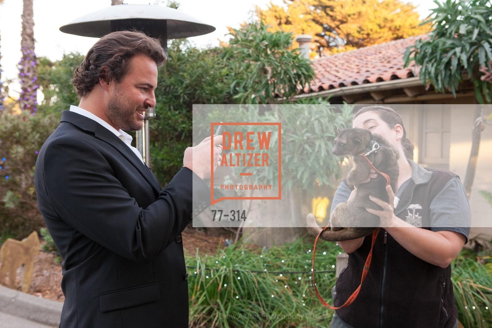 Mark Melnyk, Amy Goodwin, San Francisco Zoo Fur Ball, San Francisco Zoo, September 25th, 2015