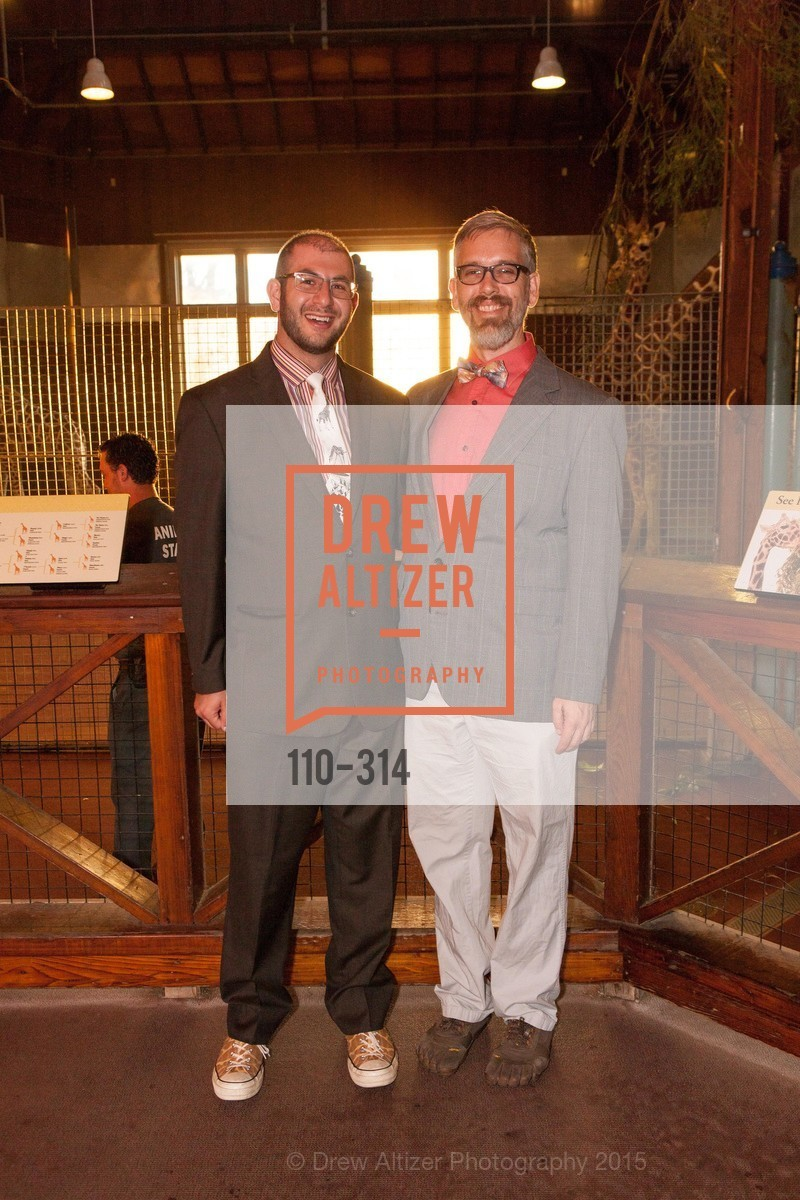 Alex Lemberg, Kevin Cureton, San Francisco Zoo Fur Ball, San Francisco Zoo, September 25th, 2015