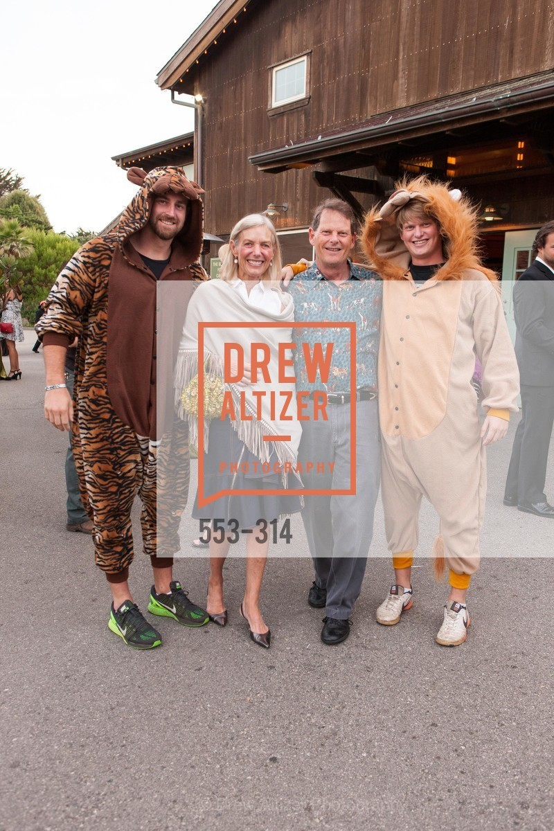 Phil Martindale, Helga Andereck, Bill Andereck, Carter Andereck, San Francisco Zoo Fur Ball, San Francisco Zoo, September 25th, 2015