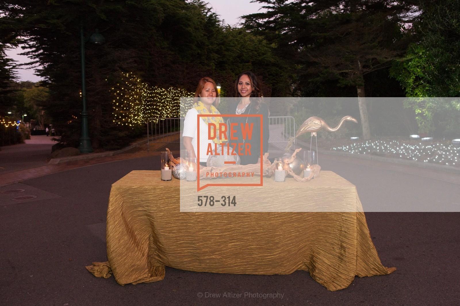 Lana Reyes, Christina Luz, San Francisco Zoo Fur Ball, San Francisco Zoo, September 25th, 2015