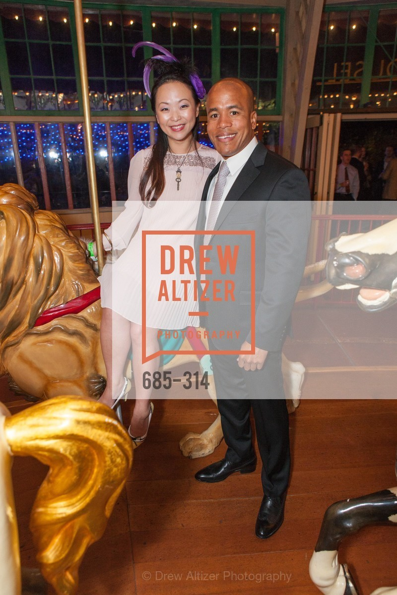 Sally Zheng, Darnell Kemp, San Francisco Zoo Fur Ball, San Francisco Zoo, September 25th, 2015