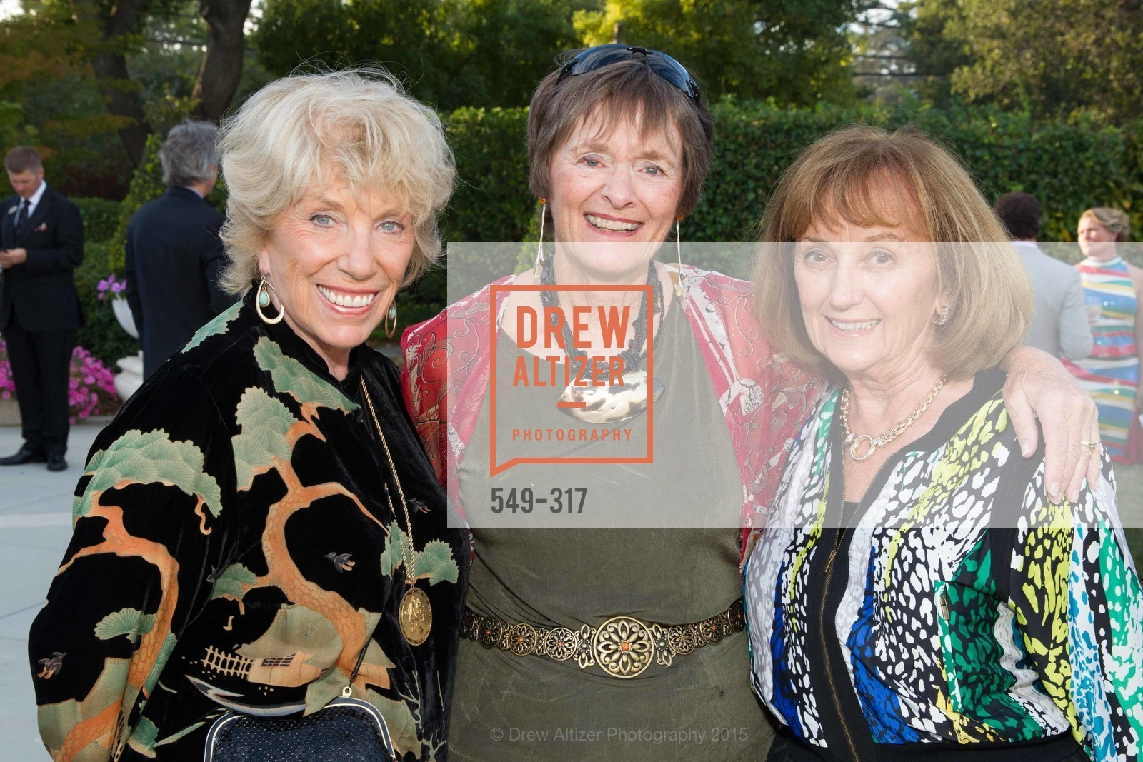 LaVey Norquist, Peg Shambarger, Judy Warner, CuriOdyssey At Coyote Point 2015 Gala, CuriOdyssey. 401 El Cerrito Avenue, September 26th, 2015,Drew Altizer, Drew Altizer Photography, full-service agency, private events, San Francisco photographer, photographer california