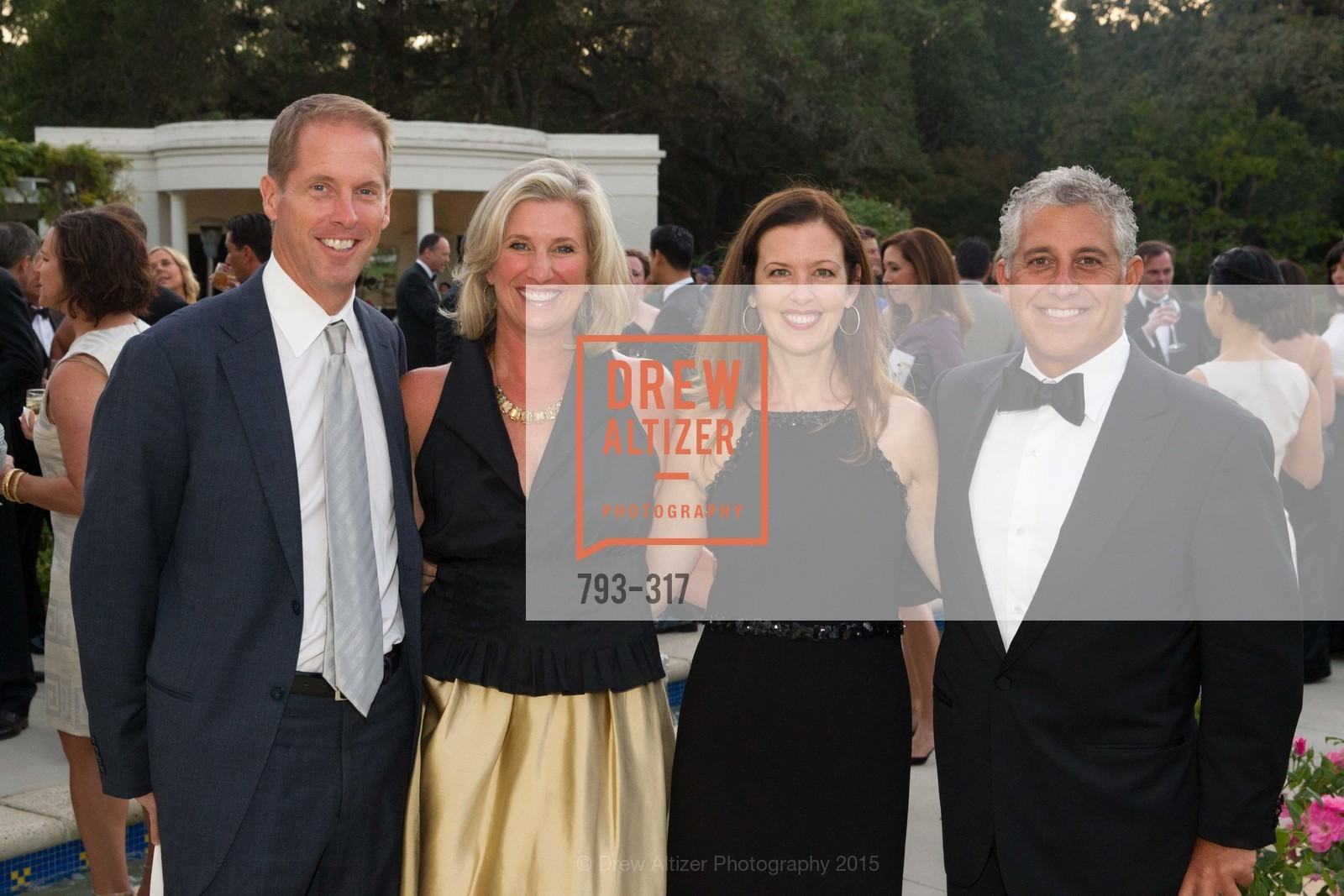 David Bressie, Jennifer Bressie, Cathy Krikorian, Blake Krikorian, CuriOdyssey At Coyote Point 2015 Gala, CuriOdyssey. 401 El Cerrito Avenue, September 26th, 2015,Drew Altizer, Drew Altizer Photography, full-service agency, private events, San Francisco photographer, photographer california