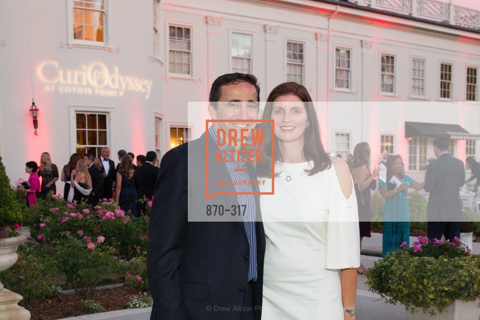 Eric Amdursky, Jennider Amdursky, CuriOdyssey At Coyote Point 2015 Gala, CuriOdyssey. 401 El Cerrito Avenue, September 26th, 2015,Drew Altizer, Drew Altizer Photography, full-service agency, private events, San Francisco photographer, photographer california