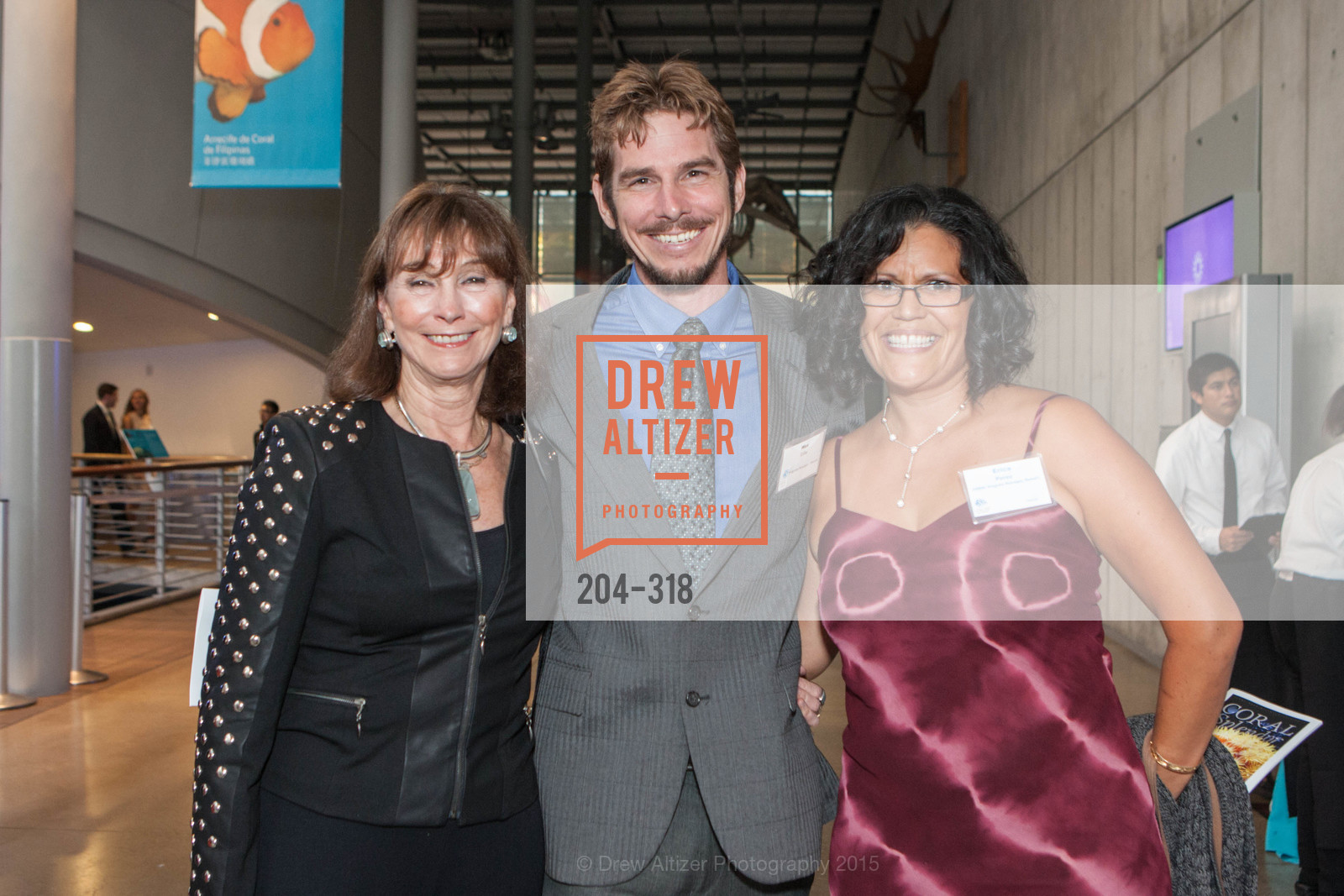 Elizabeth Wagner, Wesley Crile, Erica Perez, Coral Reef Alliance at the California Academy of Sciences, Academy of Sciences, September 26th, 2015,Drew Altizer, Drew Altizer Photography, full-service agency, private events, San Francisco photographer, photographer california