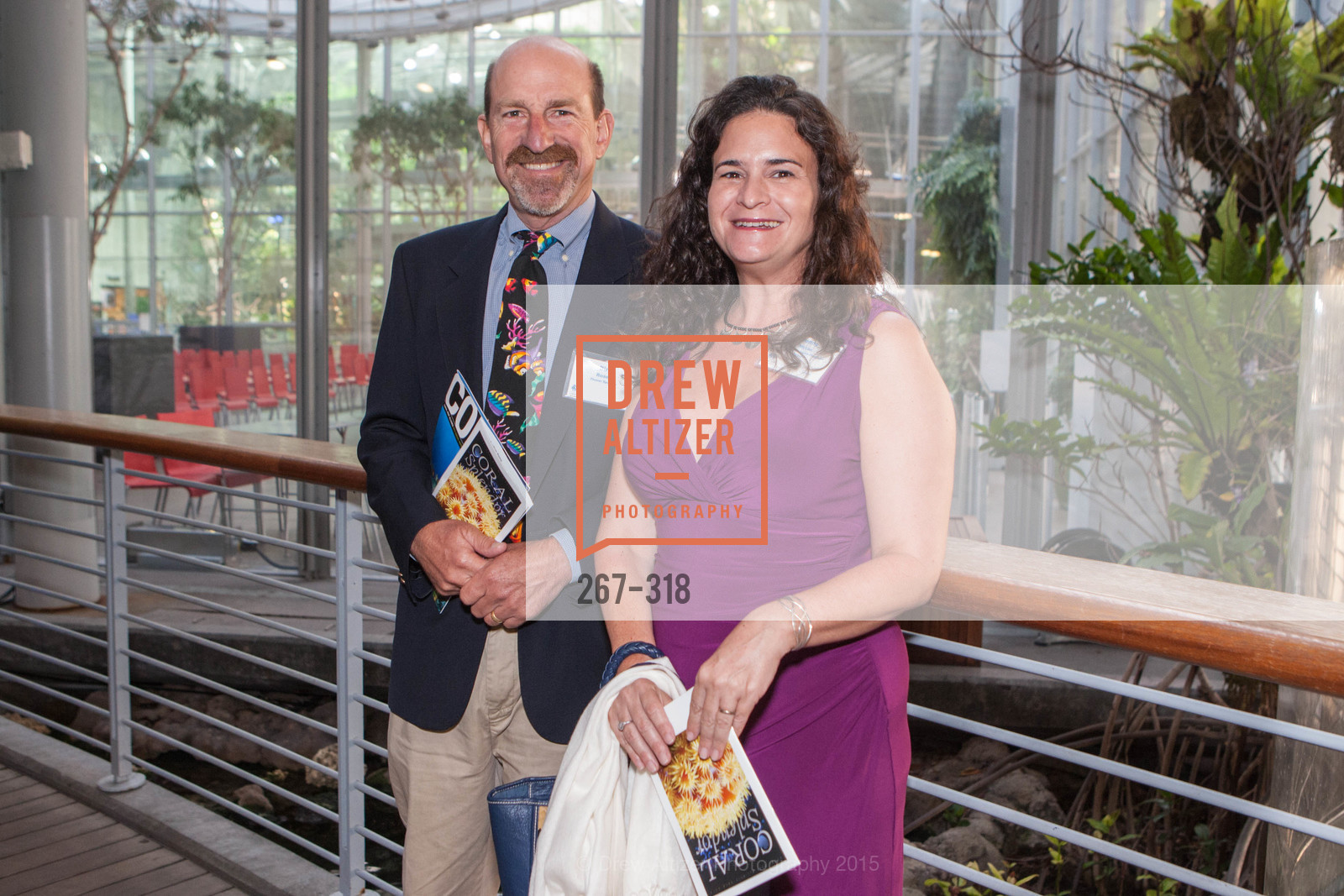 Dirk Rosen, Jennifer Myton, Coral Reef Alliance at the California Academy of Sciences, Academy of Sciences, September 26th, 2015,Drew Altizer, Drew Altizer Photography, full-service agency, private events, San Francisco photographer, photographer california