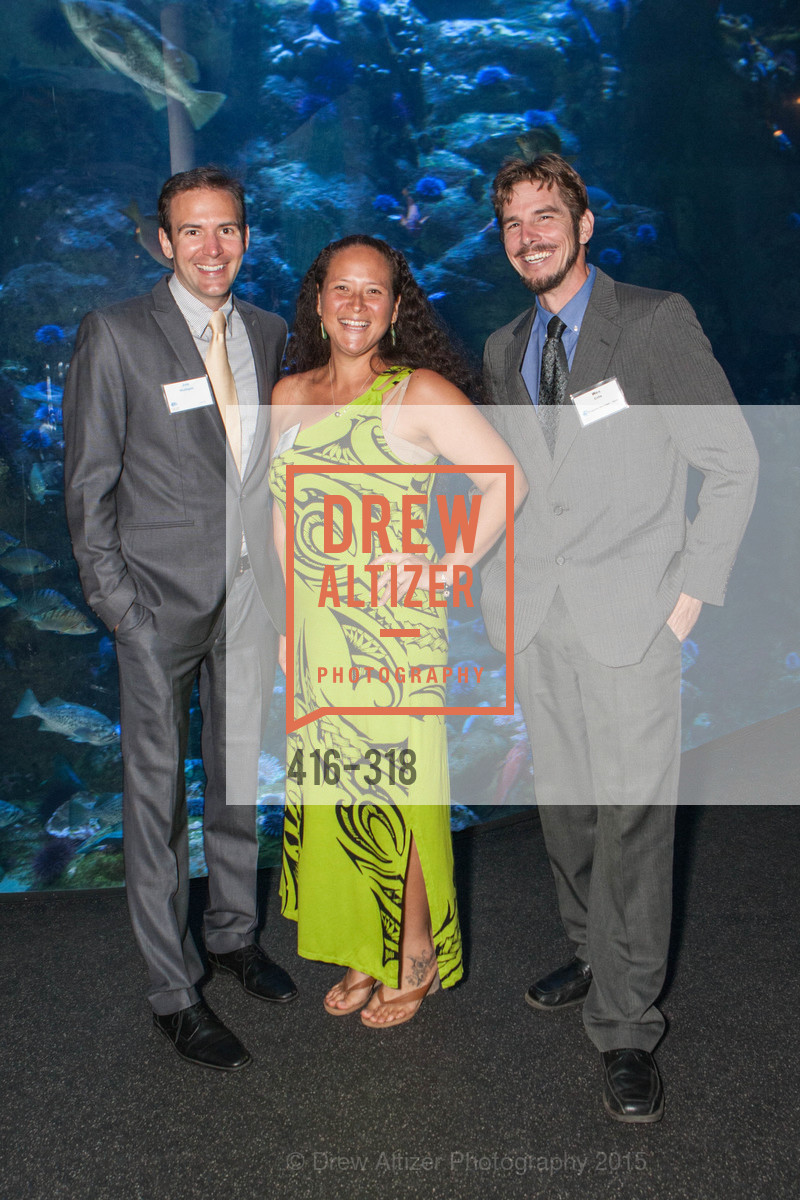 Joe Mulligan, Chana Ane, Wesley Crile, Coral Reef Alliance at the California Academy of Sciences, Academy of Sciences, September 26th, 2015,Drew Altizer, Drew Altizer Photography, full-service agency, private events, San Francisco photographer, photographer california