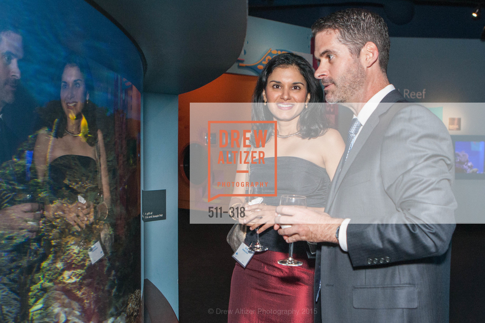 Avani Mehta Sood, Michael Webster, Coral Reef Alliance at the California Academy of Sciences, Academy of Sciences, September 26th, 2015,Drew Altizer, Drew Altizer Photography, full-service agency, private events, San Francisco photographer, photographer california