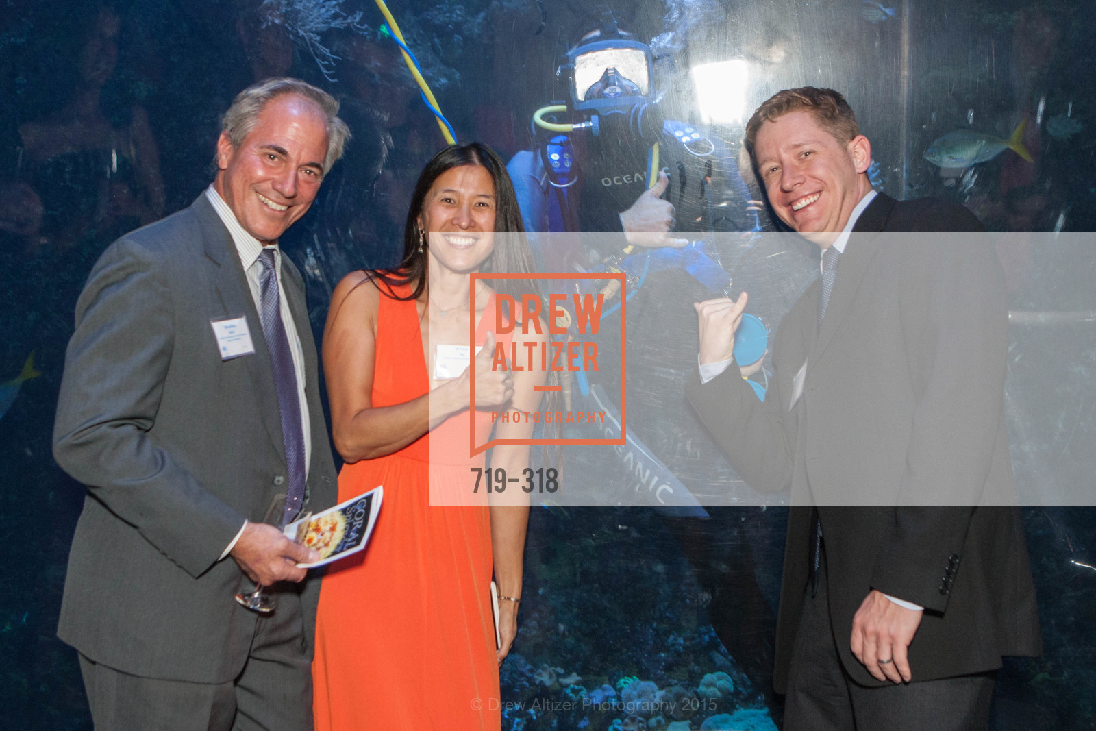 Bradley Mart, Alice Ng, Elliott Jessup, Coral Reef Alliance at the California Academy of Sciences, Academy of Sciences, September 26th, 2015,Drew Altizer, Drew Altizer Photography, full-service agency, private events, San Francisco photographer, photographer california