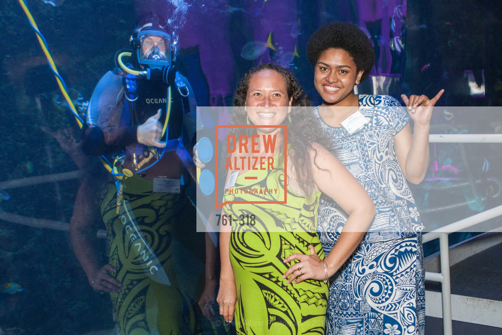 Chana Ane, Alisi Rabukawaqa, Coral Reef Alliance at the California Academy of Sciences, Academy of Sciences, September 26th, 2015,Drew Altizer, Drew Altizer Photography, full-service agency, private events, San Francisco photographer, photographer california