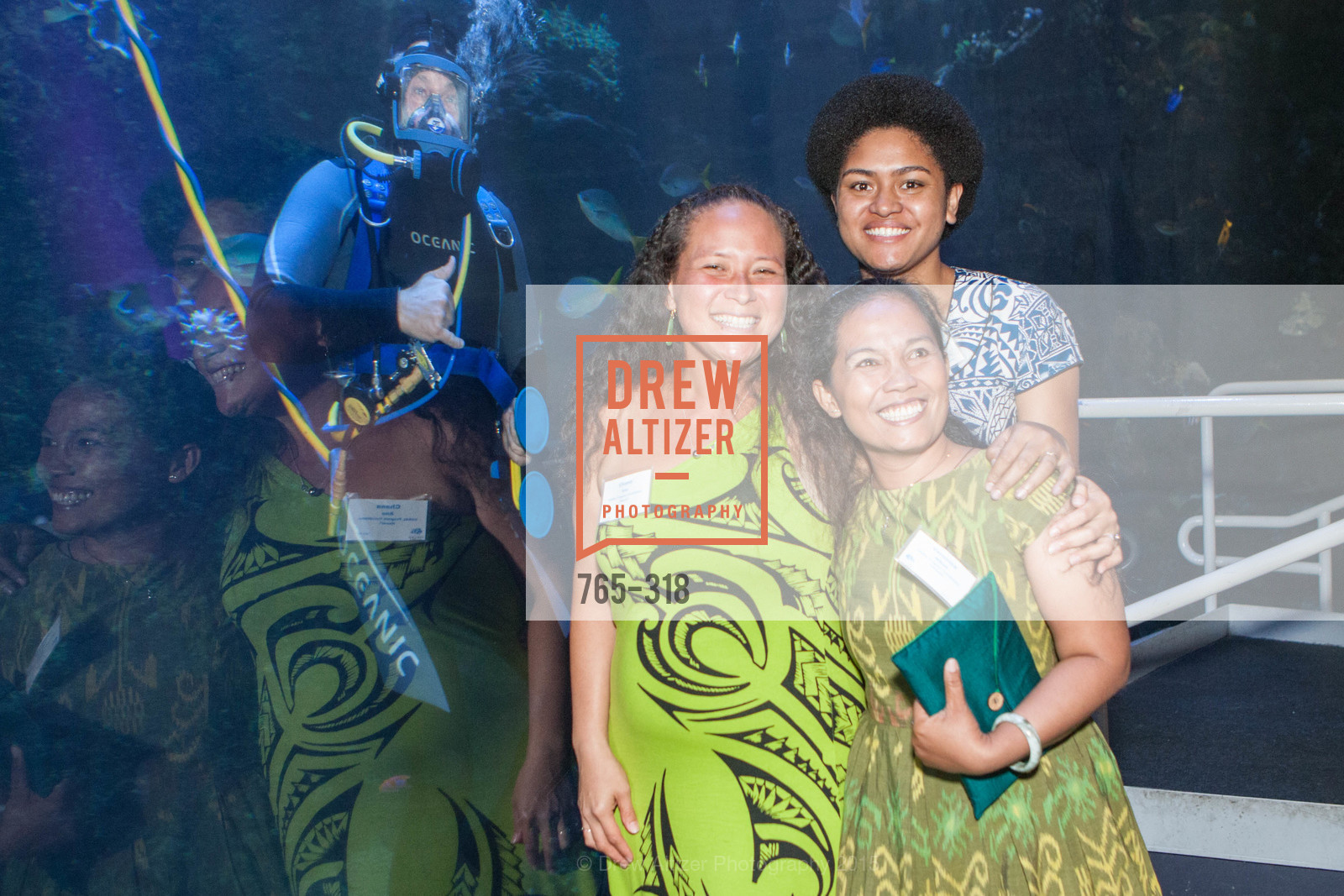 Chana Ane, Veronica Niken, Alisi Rabukawaqa, Coral Reef Alliance at the California Academy of Sciences, Academy of Sciences, September 26th, 2015,Drew Altizer, Drew Altizer Photography, full-service agency, private events, San Francisco photographer, photographer california