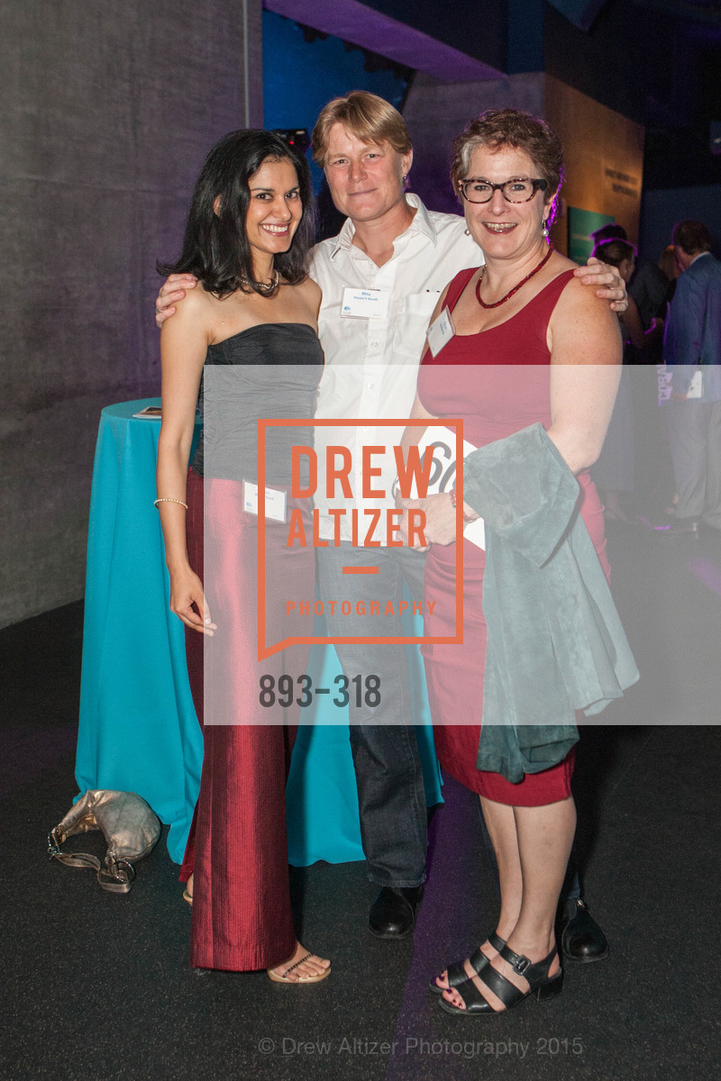 Avani Mehta Sood, Mila Visser 't Hooft, Erica Breneman, Coral Reef Alliance at the California Academy of Sciences, Academy of Sciences, September 26th, 2015,Drew Altizer, Drew Altizer Photography, full-service agency, private events, San Francisco photographer, photographer california