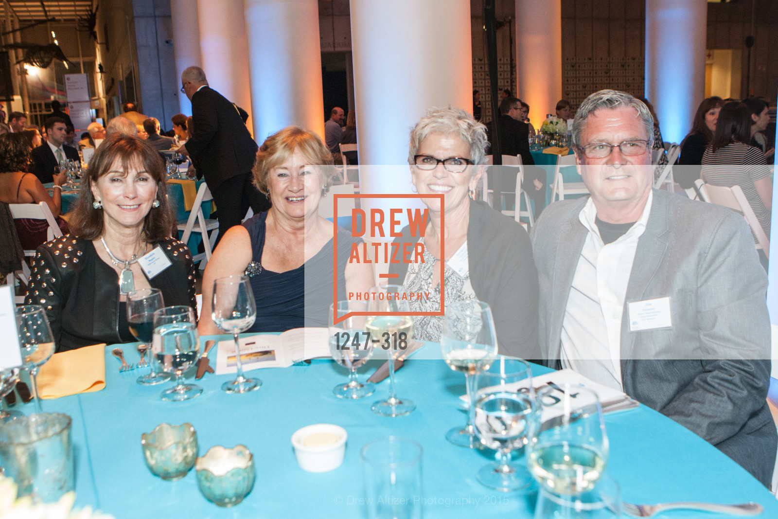 Elizabeth Wagner, Ginger Tolonen, Jim Tolonen, Coral Reef Alliance at the California Academy of Sciences, Academy of Sciences, September 26th, 2015,Drew Altizer, Drew Altizer Photography, full-service agency, private events, San Francisco photographer, photographer california