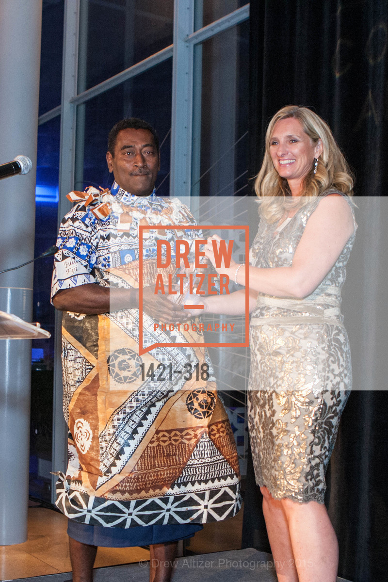 Paulo Kolikata, Kristine Billeter, Coral Reef Alliance at the California Academy of Sciences, Academy of Sciences, September 26th, 2015
