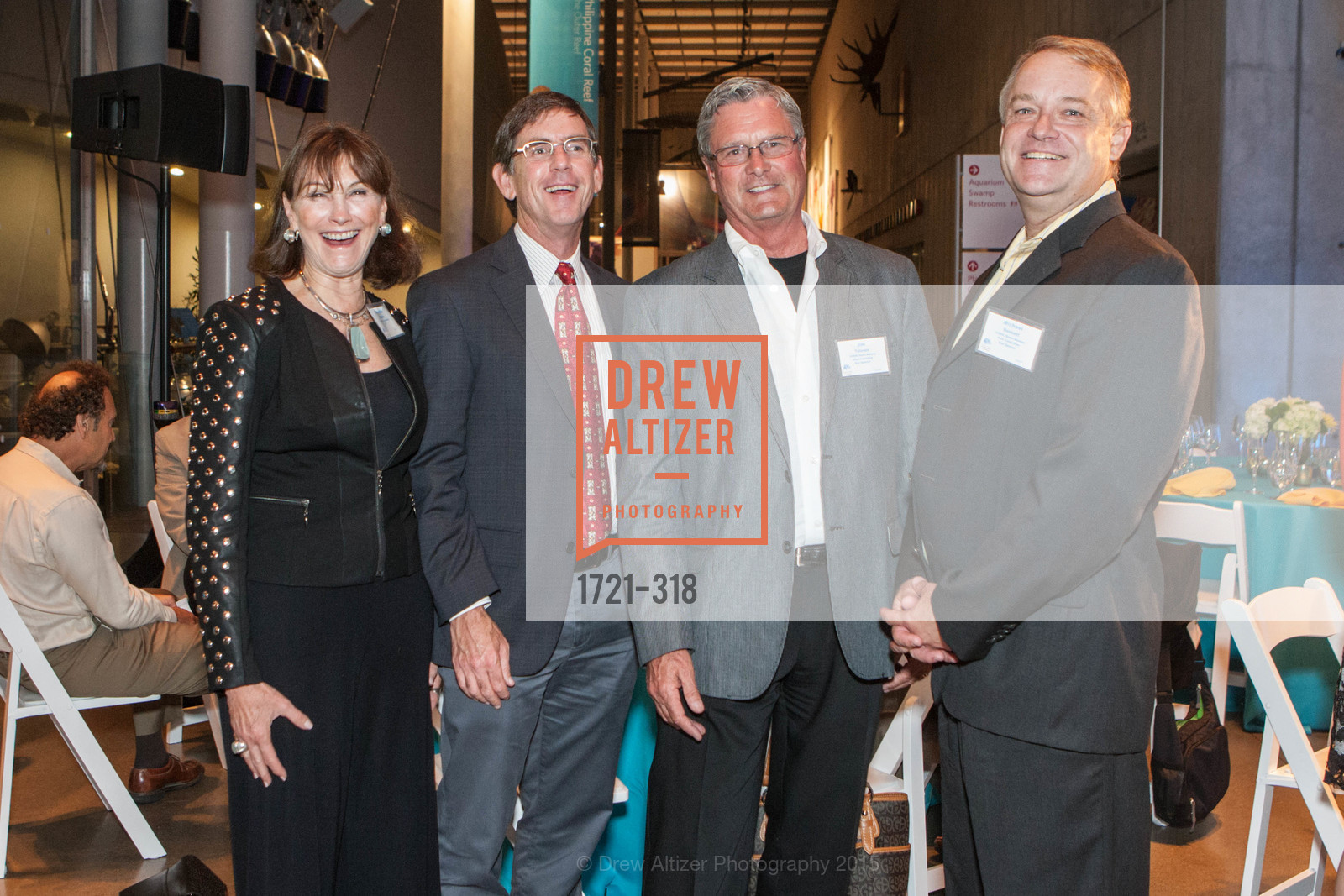 Elizabeth Wagner, Dan Dunn, Jim Tolonen, Michael Bennett, Coral Reef Alliance at the California Academy of Sciences, Academy of Sciences, September 26th, 2015,Drew Altizer, Drew Altizer Photography, full-service agency, private events, San Francisco photographer, photographer california