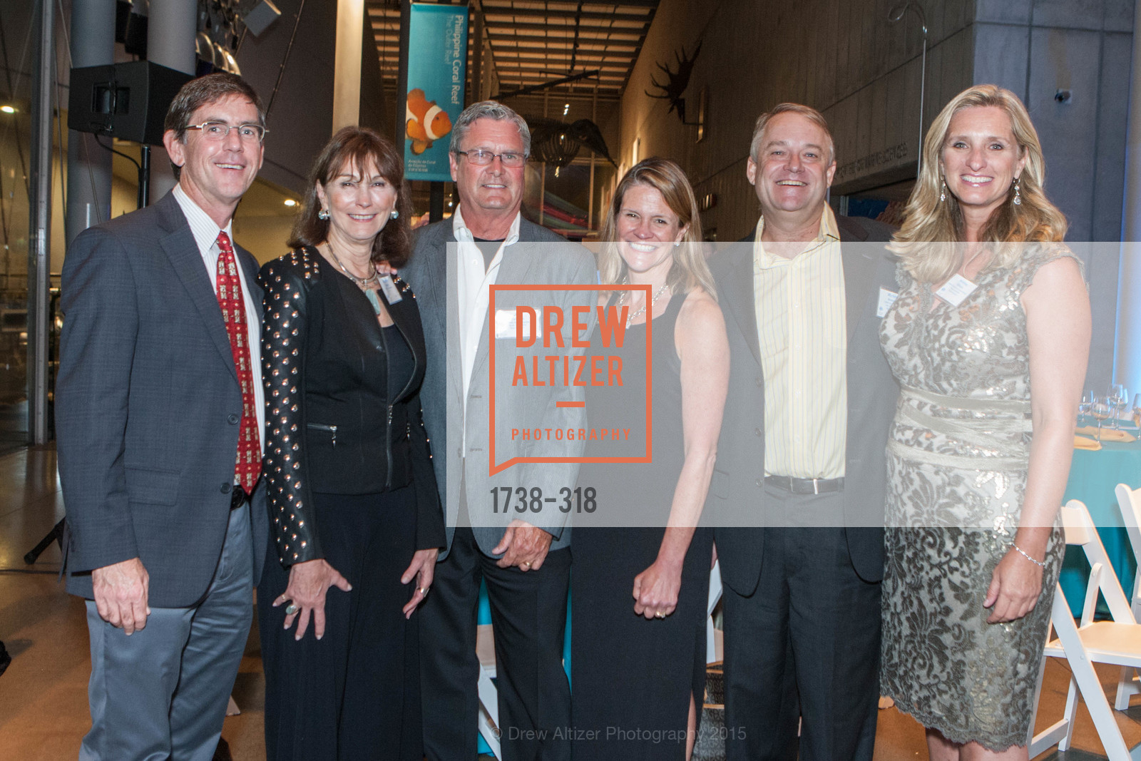 Dan Dunn, Elizabeth Wagner, Jim Tolonen, Elizabeth Ulmer, Michael Bennett, Kristine Billeter, Coral Reef Alliance at the California Academy of Sciences, Academy of Sciences, September 26th, 2015,Drew Altizer, Drew Altizer Photography, full-service agency, private events, San Francisco photographer, photographer california