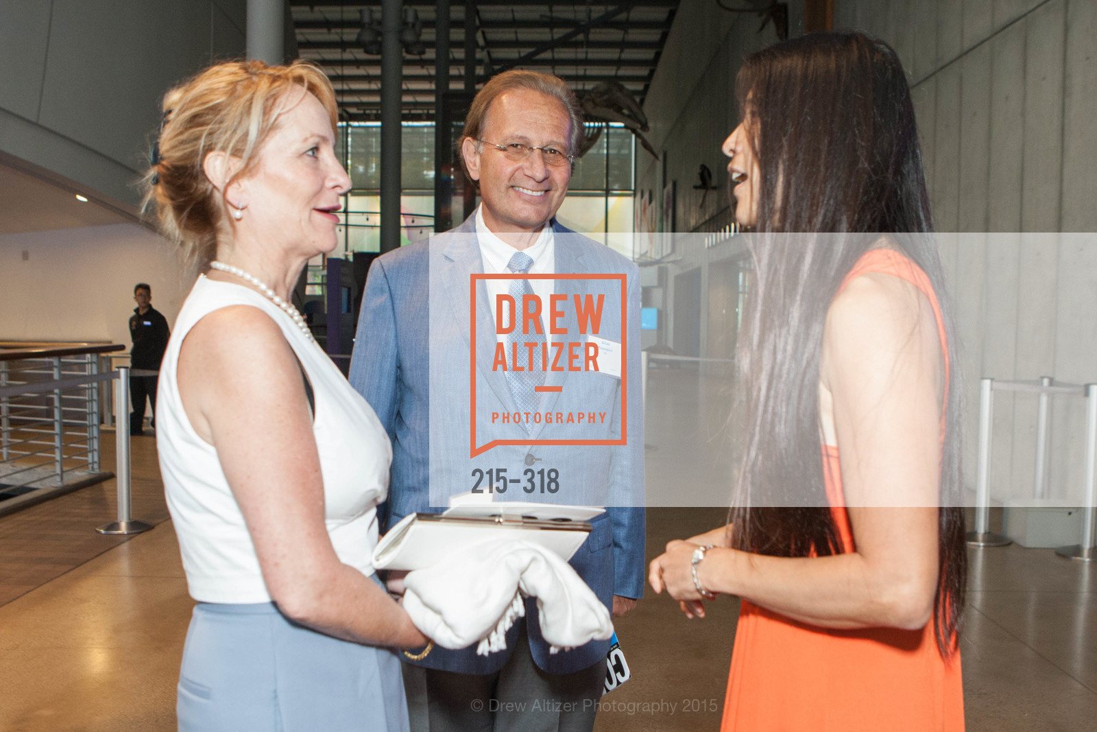 Leah Tuffanelli, Allan Tuffanelli, Alice Ng, Coral Reef Alliance at the California Academy of Sciences, Academy of Sciences, September 26th, 2015