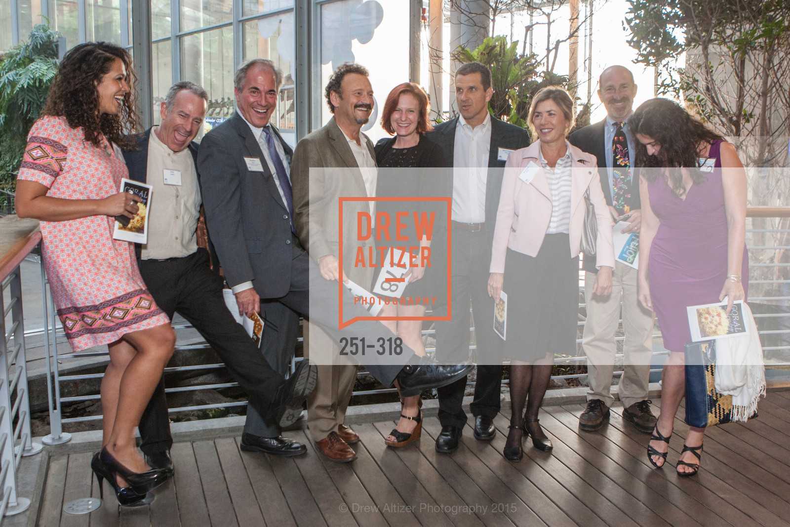 Pamela Ortega, Gary Lucks, Bradley Mart, Jeff Chanin, Susan Schuster, Dirk Rosen, Jennifer Myton, Coral Reef Alliance at the California Academy of Sciences, Academy of Sciences, September 26th, 2015,Drew Altizer, Drew Altizer Photography, full-service agency, private events, San Francisco photographer, photographer california