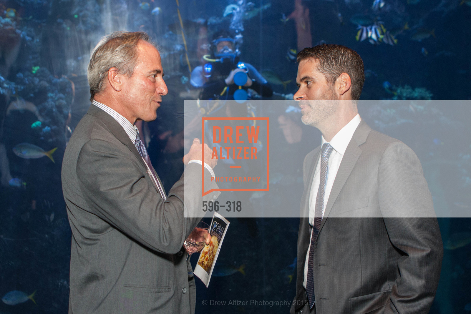 Bradley Mart, Michael Webster, Coral Reef Alliance at the California Academy of Sciences, Academy of Sciences, September 26th, 2015,Drew Altizer, Drew Altizer Photography, full-service agency, private events, San Francisco photographer, photographer california