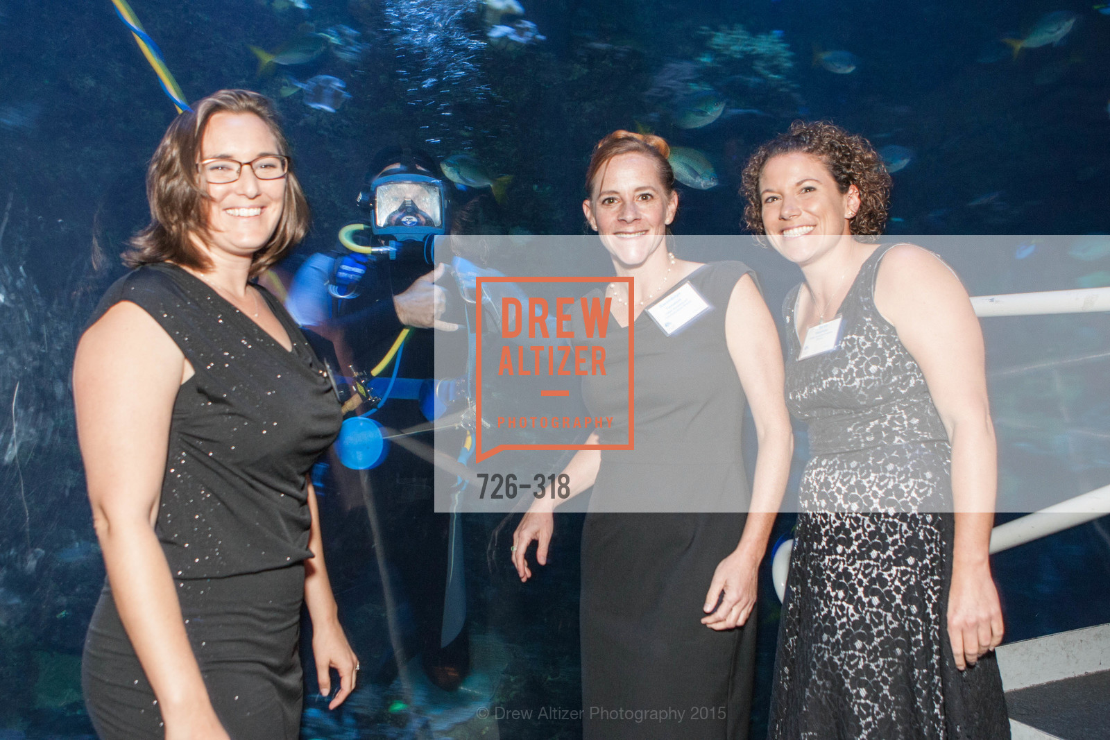 Marissa Stein, Gwendolyn Tornatore, Sarah Eminhizer, Coral Reef Alliance at the California Academy of Sciences, Academy of Sciences, September 26th, 2015,Drew Altizer, Drew Altizer Photography, full-service agency, private events, San Francisco photographer, photographer california
