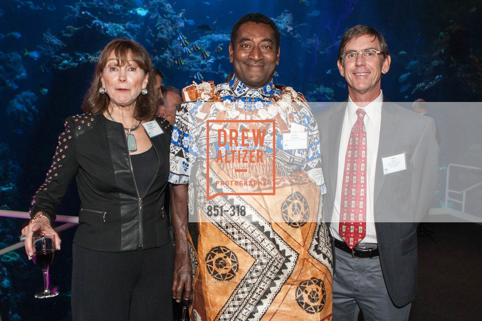 Elizabeh Wagner, Paulo Kolikata, Dan Dunn, Coral Reef Alliance at the California Academy of Sciences, Academy of Sciences, September 26th, 2015,Drew Altizer, Drew Altizer Photography, full-service agency, private events, San Francisco photographer, photographer california