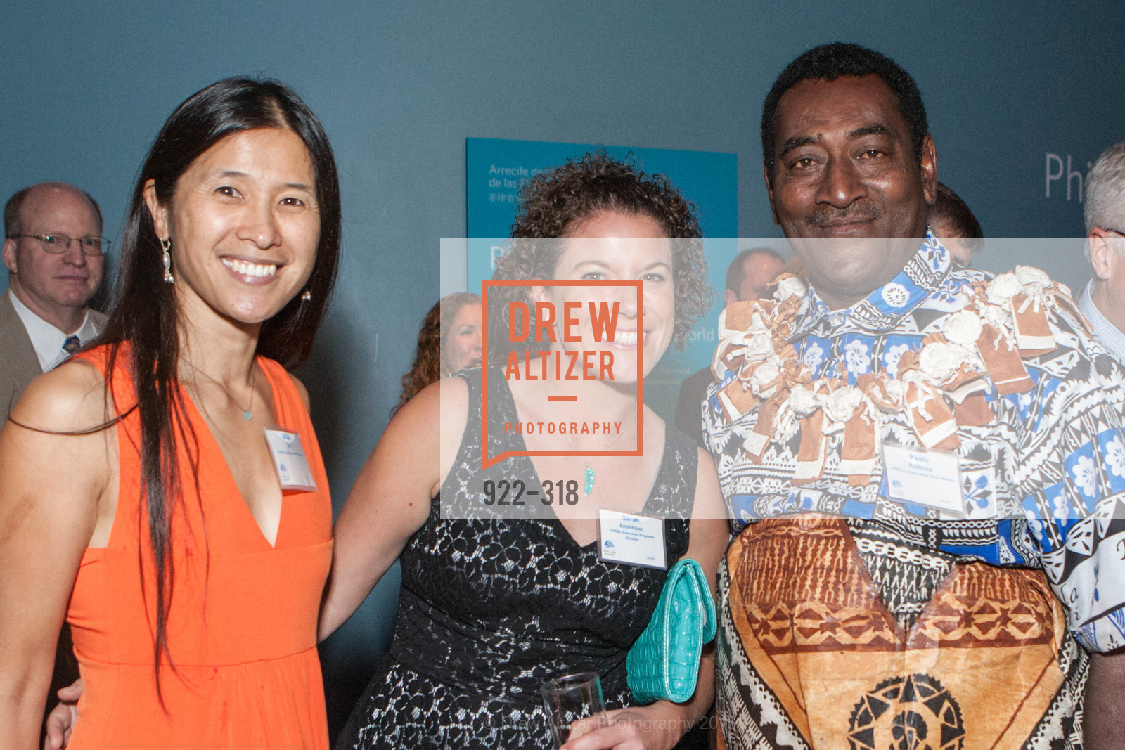 Alice Ng, Sarah Eminhizer, Paulo Kolikata, Coral Reef Alliance at the California Academy of Sciences, Academy of Sciences, September 26th, 2015,Drew Altizer, Drew Altizer Photography, full-service agency, private events, San Francisco photographer, photographer california