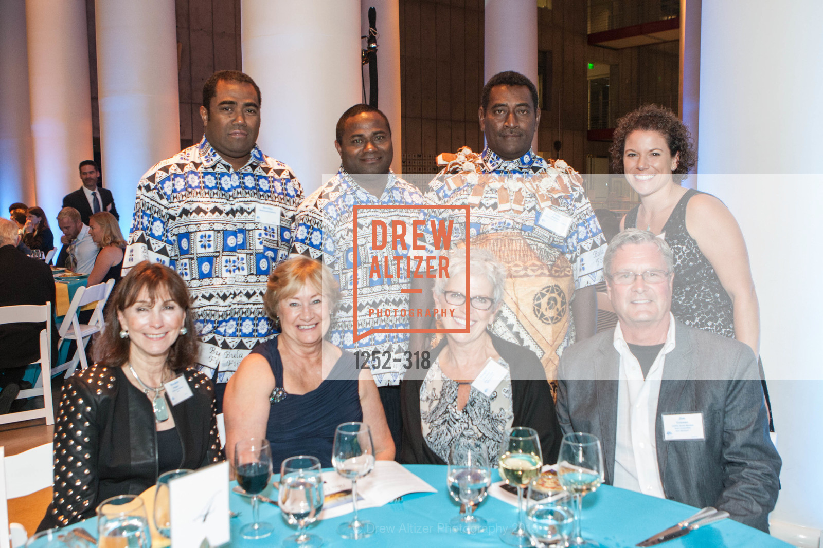 Elizabeth Wagner, Sevuloni Baleinakorodawa, Didi Dulunaqio, Ginger Tolonen, Paulo Kolikata, Sarah Eminhizer, Jim Tolonen, Coral Reef Alliance at the California Academy of Sciences, Academy of Sciences, September 26th, 2015,Drew Altizer, Drew Altizer Photography, full-service agency, private events, San Francisco photographer, photographer california