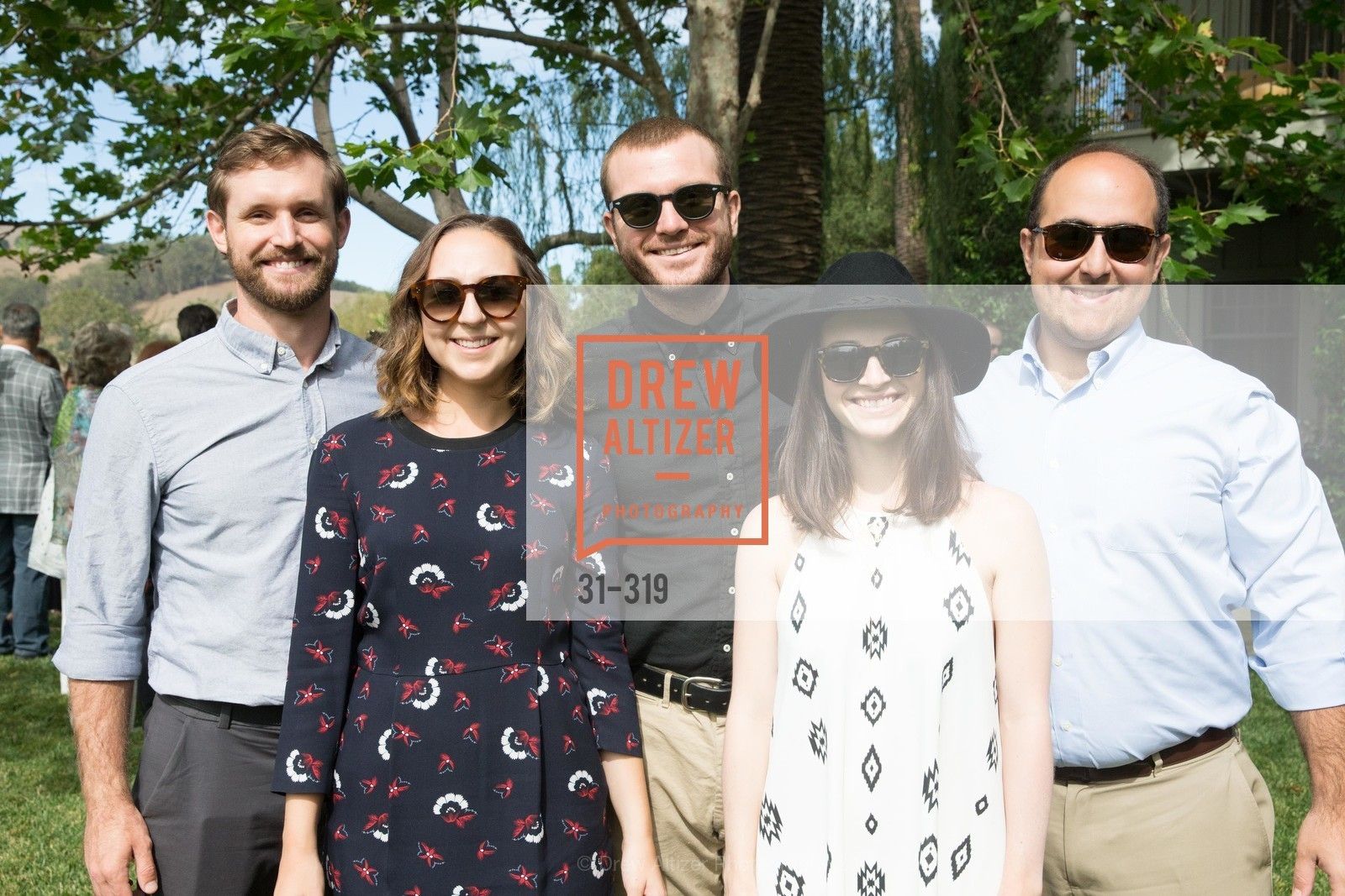 Shane Wilkinson, Remy Fisher, Nion McEvoy Jr., Jessica Slor, Sam Fisher, Fall for Art: ODC at McEvoy Ranch, McEvoy Ranch. 5935 Red Hill Road, September 27th, 2015,Drew Altizer, Drew Altizer Photography, full-service agency, private events, San Francisco photographer, photographer california