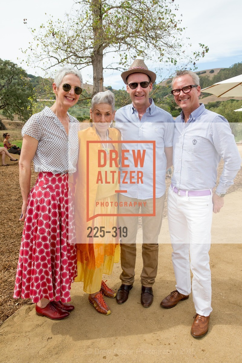 Elizabeth McDonald, Gae Shulman, Tim Schroeder, Oliver Clode, Fall for Art: ODC at McEvoy Ranch, McEvoy Ranch. 5935 Red Hill Road, September 27th, 2015,Drew Altizer, Drew Altizer Photography, full-service agency, private events, San Francisco photographer, photographer california