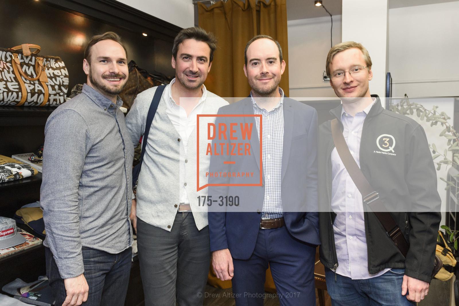 Eric Marceau, Axel Gutilly, Slaton Carter, Eric Smith, Photo #175-3190