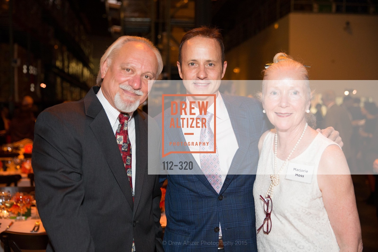 Larry Moss, Brian Boitano, Marjorie Moss, SF - Marin Food Bank Presents ONE BIG TABLE, SF- Marin Food Bank. 900 Pennsylvania Ave, September 26th, 2015,Drew Altizer, Drew Altizer Photography, full-service agency, private events, San Francisco photographer, photographer california